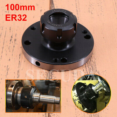 ER-32 Collet Chuck 100MM DIAMETER Compact Lathe Tight Tolerance For Milling UK • 47.41£