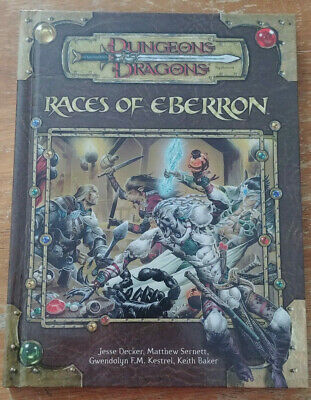AU45.91 • Buy Dungeons & Dragons 3.5 - Races Of Eberron (2005, First Print) (NM)
