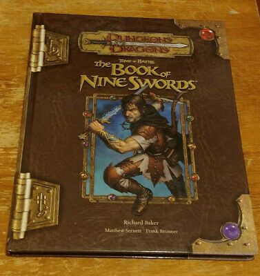 AU204.05 • Buy Dungeons & Dragons 3.5 - Tome Of Battle (2006, First Print) (NM)