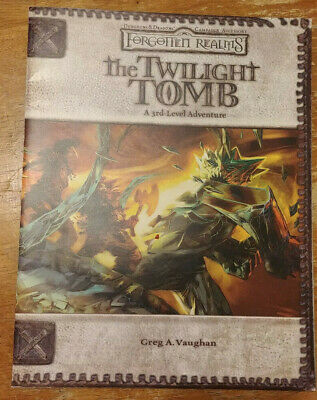 AU122.43 • Buy Dungeons & Dragons 3.5 Forgotten Realms The Twilight Tomb (2006, 1st Print) (NM)