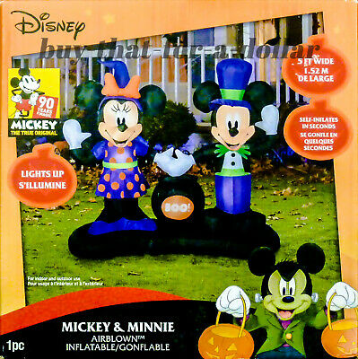 $ CDN226.58 • Buy NEW*Disney Halloween Decorations-Mickey Minnie Mouse-Inflatable-Outdoor-Airblown