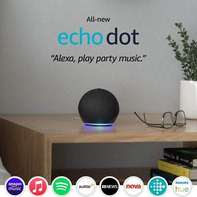 AU95 • Buy All-new Echo Dot (4th Gen) | Smart Speaker With Alexa | Charcoal