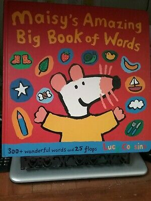$4.29 • Buy Maisy's Amazing Big Book Of Words By Lucy Cousin (2007,HARDCOVER)