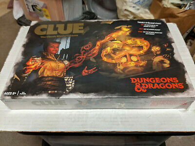 AU65.23 • Buy Dungeons & Dragons CLUE Board Game NEW SEALED