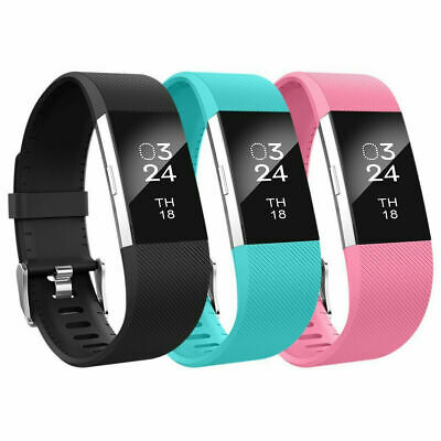 $ CDN4.99 • Buy For Fitbit Charge 2 Strap Replacement Band Metal Buckle Wristband Accessory