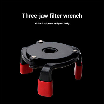 AU12.28 • Buy Adjustable 3 Jaw Cars Oil Filter Wrench Remover Tool For 2.4-3.8  Oil Filters PE
