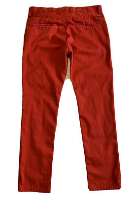 $21 • Buy LEVI'S 34x32 Vintage Style Red Men's Chino Casual Dress Pants