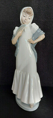 £36 • Buy NAO By LLADRO Style Figurine Orient Lady With Fan