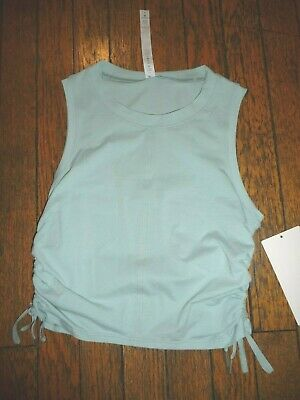 $ CDN64.08 • Buy Lululemon CINCH IT UP TANK TOP HAZY JADE  SZ 4 NWT