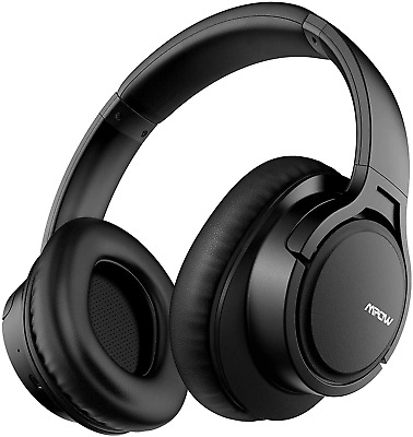 Mpow H7 Bluetooth Headphones Over Ear, HiFi Stereo Wireless And Wired Headset Wi • 30.26£