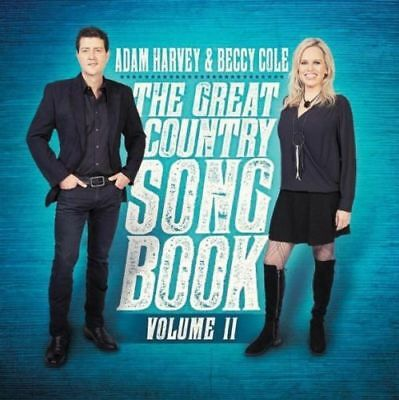 AU14.85 • Buy ADAM HARVEY & BECCY COLE The Great Country Songbook Volume II CD BRAND NEW Vol 2