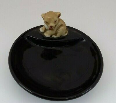 VINTAGE Wade Whimtray Cute Puppy Collectable • 9.80£
