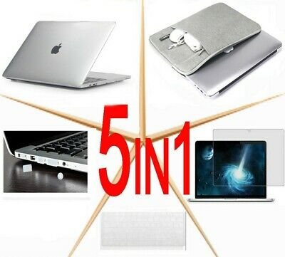 $27.39 • Buy For 2020 Macbook Air Pro M1 13  13.3  Laptop Shell Case+ Screen Protector+ Bag