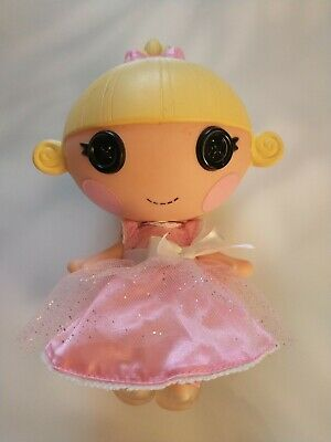 Lalaloopsy Littles Sister - Ribbon Slippers Cinder Slippers Doll In Pink Dress • 9.80£