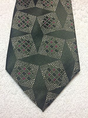 $21.36 • Buy FERRELL REED MENS TIE PEWTER WITH FUSCHIA ACCENTS 3.75 X 59 NWT