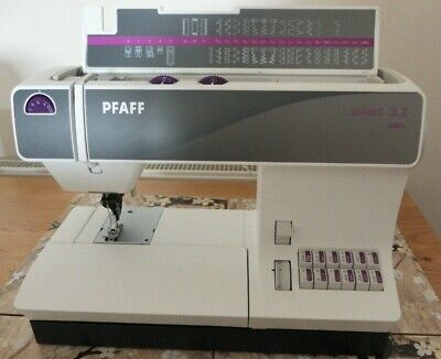 PFAFF 3.2 Model Sewing Machine Bought Brand New 12th August 2020 Duplicate Gift • 500£