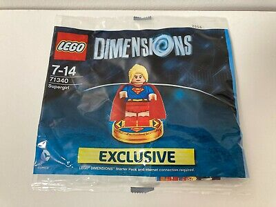 AU59 • Buy LEGO Dimensions - Supergirl - Polybag 71340 Brand New, Sealed, Tracked Postage