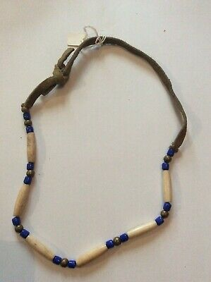 Native American Navajo Hairpipe Necklace  • 29£