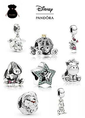 New Authentic Pandora Disney Silver Sterling Charm Ale 925 With Gift Pouch • 16.95£