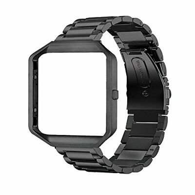 $ CDN35.45 • Buy Oitom Metal Bands Compatible With Fitbit Blaze Large,Frame Housing+Stainless