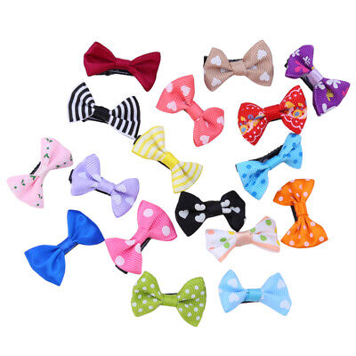 $ CDN6 • Buy Hair Bows Baby Clips Accessories Girls Ribbon Toddler Hairpin Girl Accessory 8C