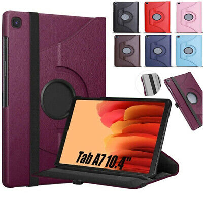 360 Rotating Smart PU Leather Case For Samsung Galaxy Tab A7 10.4 T500/T505 2020 • 4.49£