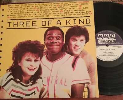 £5.99 • Buy THREE OF A KIND - 1983 Vinyl 33rpm LP Featuring LENNY HENRY , TRACEY ULLMAN. S7
