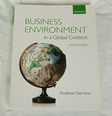 Business Environment In A Global Context By Andrew Harrison, Second Edition • 18.99£