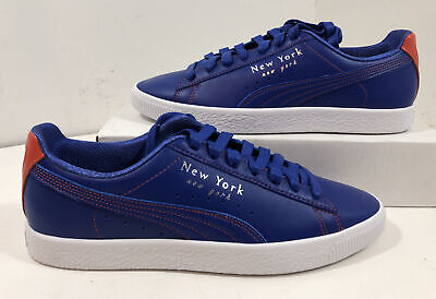 PUMA Clyde NYC Knicks Sneakers - Flagship Store Exclusive - Size 10.5 • 129.63£