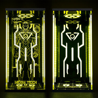 $ CDN173.52 • Buy Toys Box Hall Of Armor 1/6 Scale Display Box For Hot Toys Neon Tech Iron Man