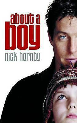About A Boy By Nick Hornby, Good Used Book (Paperback) FREE & FAST Delivery! • 2.25£
