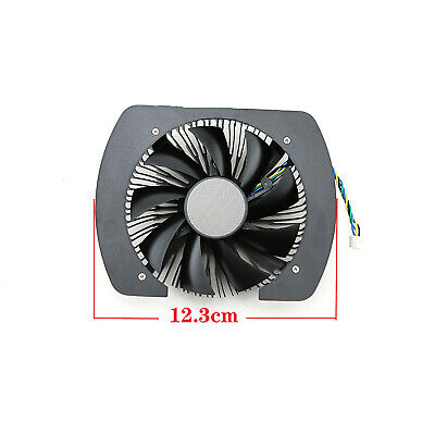 AU24.65 • Buy For GTX1060 960 950 Mini ITX P106-090 Radiator Cooler Cooling Fan T129215SH