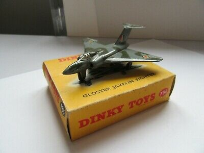 Dinky Aircraft 735 Gloster Javelin Fighter, And Boxed • 40£