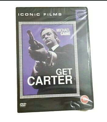 🆕️ GET CARTER 1971 DVD 2005 New & Sealed Cert 18 PAL 2 * Special Features * • 4.99£