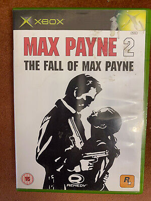 Max Payne 2 The Fall Of Max Payne Microsoft Xbox Complete With Manual Free Post • 6.95£