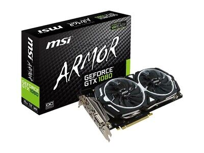 $ CDN542.26 • Buy MSI Nvidia GTX 1070Ti Armor Edition VR Ready Graphics Card Bit Coin Mining Card