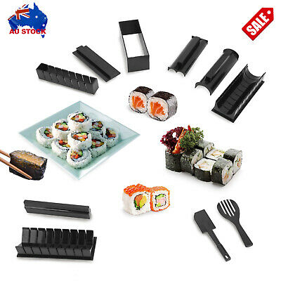AU21.99 • Buy 10pcs/set Sushi Maker Kit Japanese Rice Ball Roller Mold Multifunctional Mould A