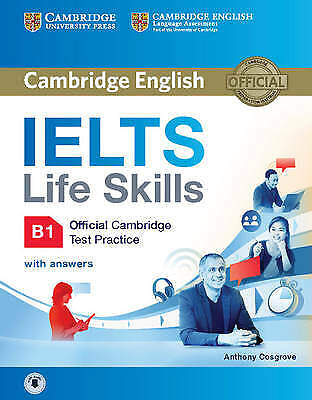 IELTS Life Skills Official Cambridge Test Practice B1 Student's Book With Answer • 13.57£