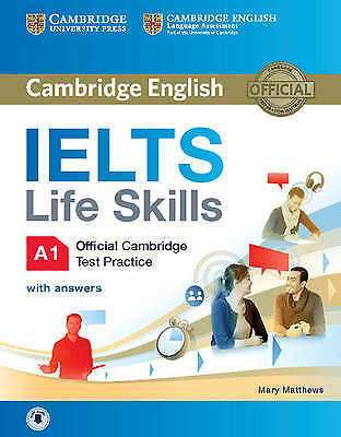 IELTS Life Skills Official Cambridge Test Practice A1 Student's Book With Answer • 11.94£