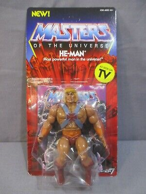 $24.99 • Buy Masters Of The Universe HE-MAN Action Figure NEW Heman 2019 Super 7 Retro Style