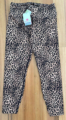 AU65 • Buy BNWT - DHARMA BUMS 7/8 TIGHTS - Nocturnal Recycled - LEOPARD SIZE M