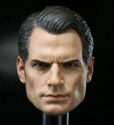 $ CDN47.74 • Buy 1/6 Henry Cavill Batman V Superman Head Sculpt For 12  Hot Toys Figure Body Toy