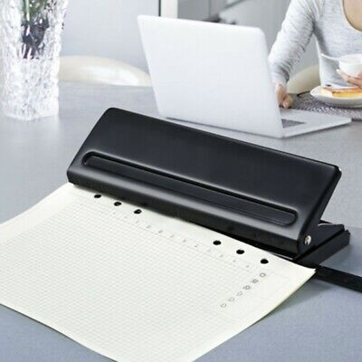 AU25.03 • Buy 6 Hole Punch Loose-Leaf Standard Puncher Paper Adjustable Office Binding Supply