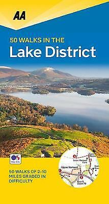 50 Walks In The Lake District, Aa Publishing,  Paperback • 7.58£