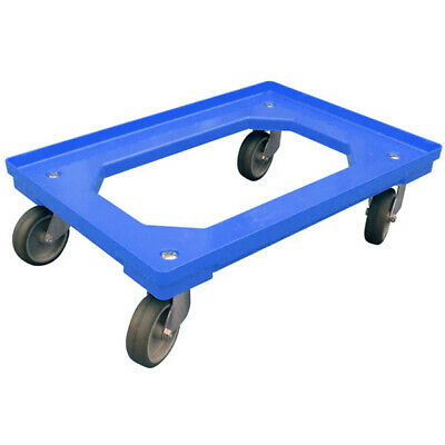 £40.65 • Buy 600 X 400mm Blue Euro Container Dolly/Skate With Large Load Capacity: 300Kg