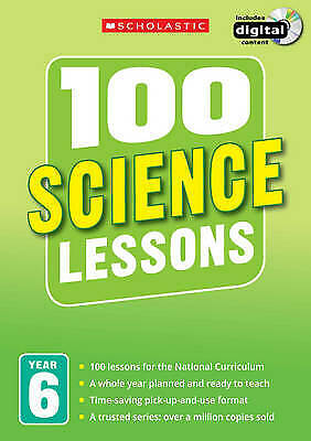 100 Science Lessons: Year 6, Hollin, Paul,  • 20.13£