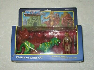 $48.97 • Buy Super7 Reaction Damaged Masters Of The Universe MOTU He-Man & Battle Cat