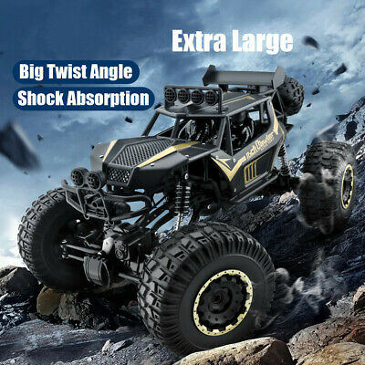 1/8 4WD Remote Control RC Cars Big Wheel Kids Toy Car Monster Truck 2.4GHz UK • 49.99£