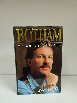 Signed Ian Botham My Autobiography 1st Edition 1994 (A4) • 9.99£