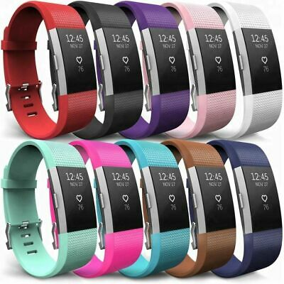 $ CDN3.44 • Buy For Fitbit Charge 2 Replacement Silicone Watch Silicone Wrist Strap Band Unisex